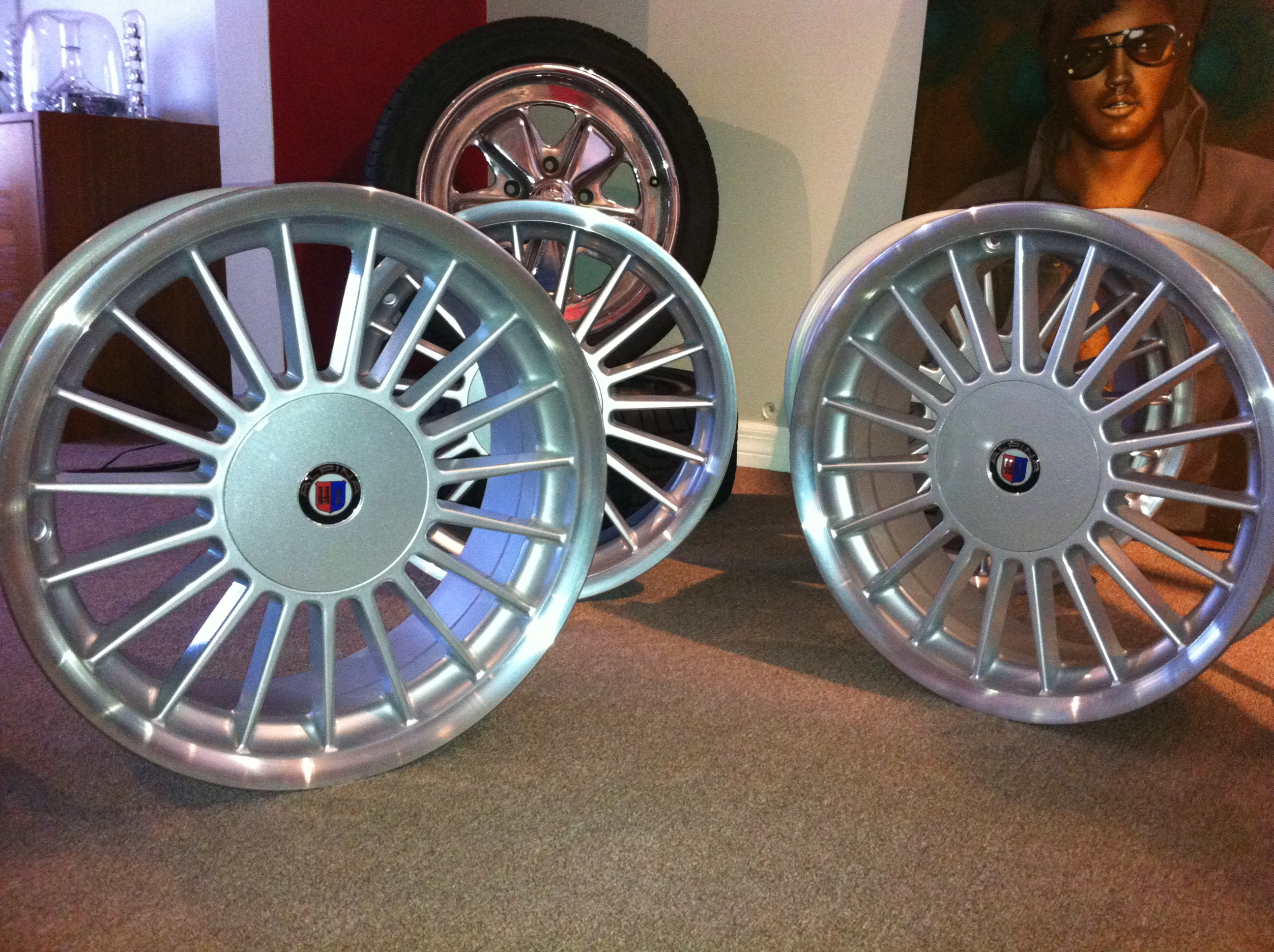 Abrahams Motor Sports BMW E Alpina Rims Replica Wheels - Bmw alpina rims for sale