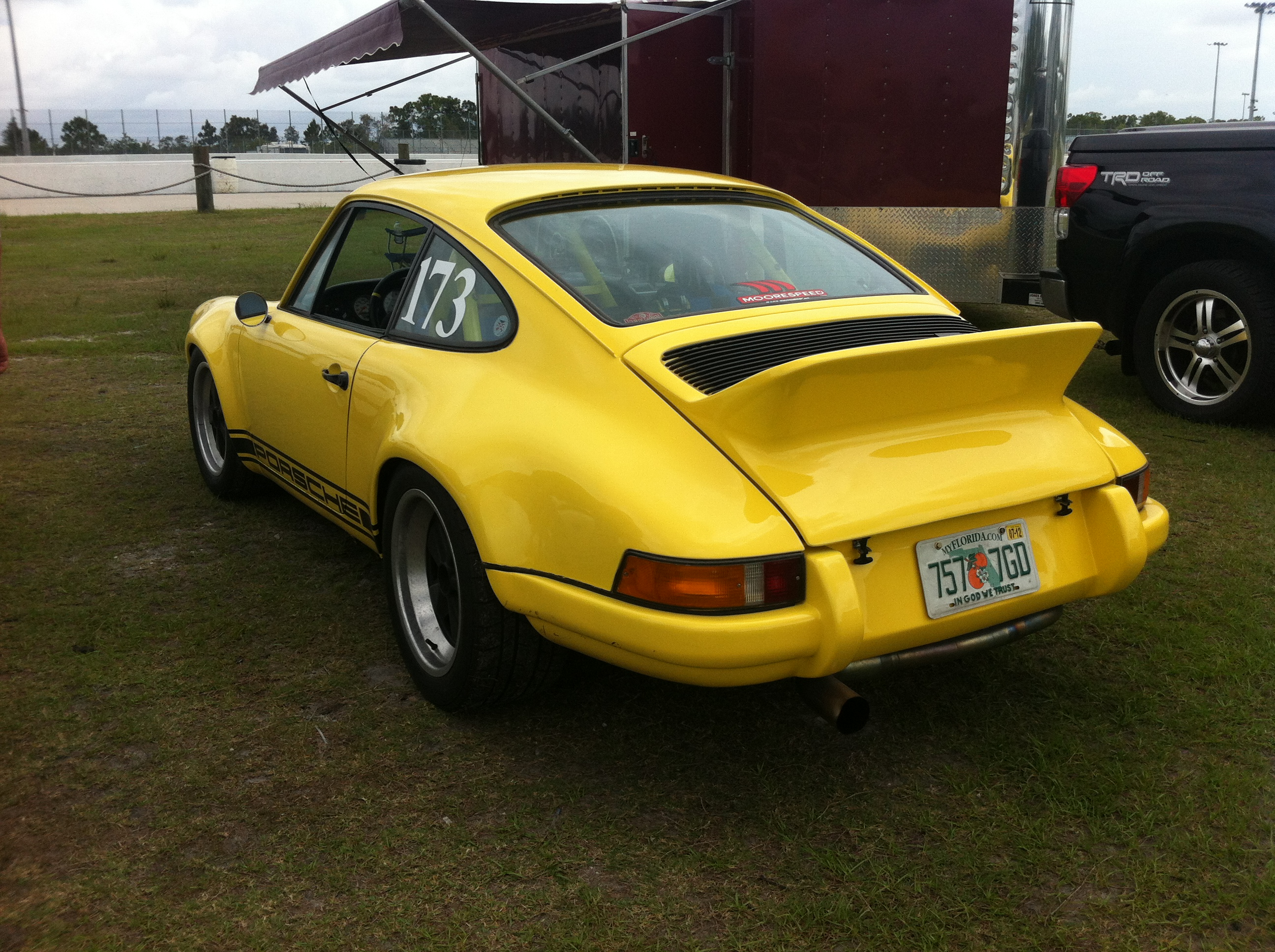 1973 porsche 911 rsr clone spotted at pbir christofer. Black Bedroom Furniture Sets. Home Design Ideas